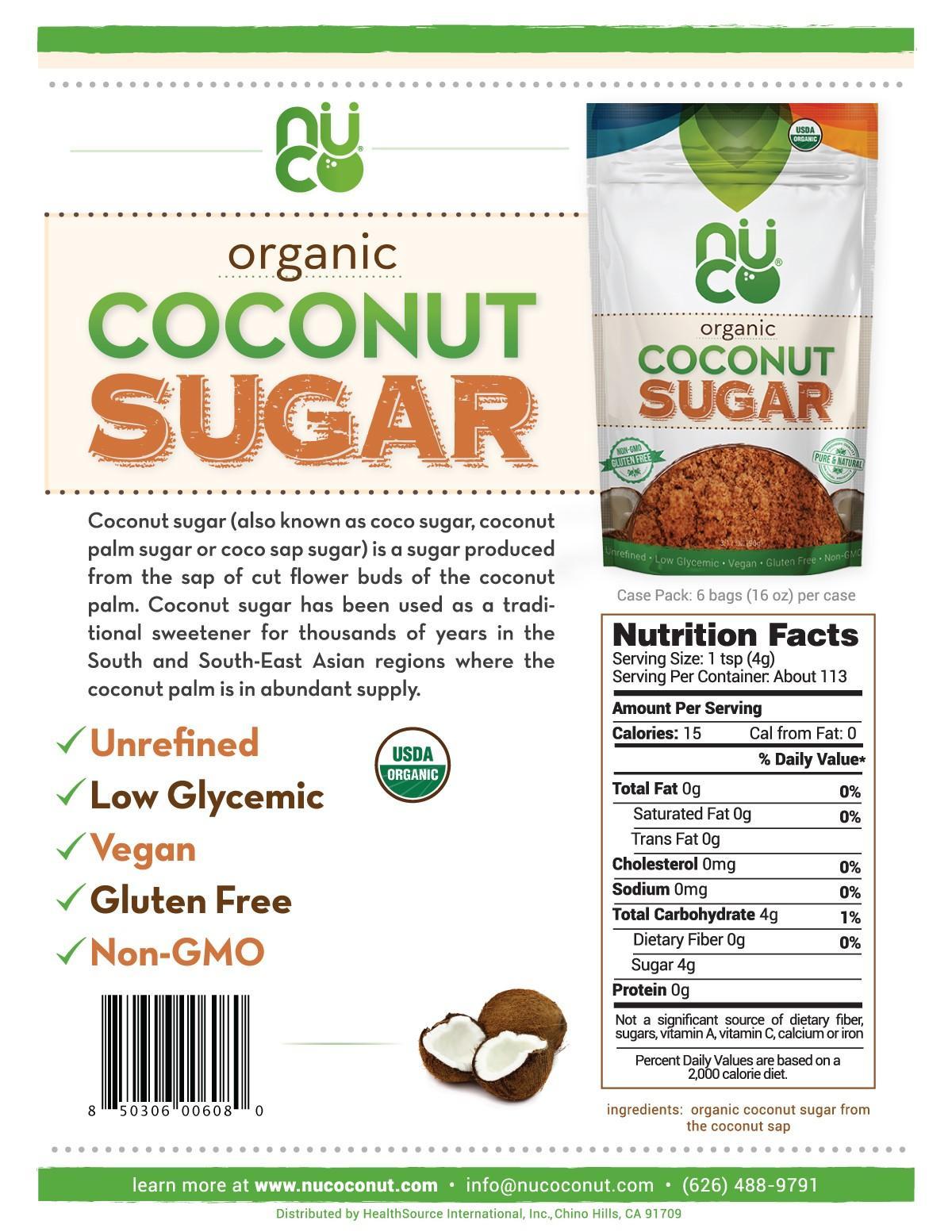 NUCO - Nucoconut - Premium Coconut Products